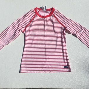 Sperry Top-Sider Sun Protect Top Shirt Red/White